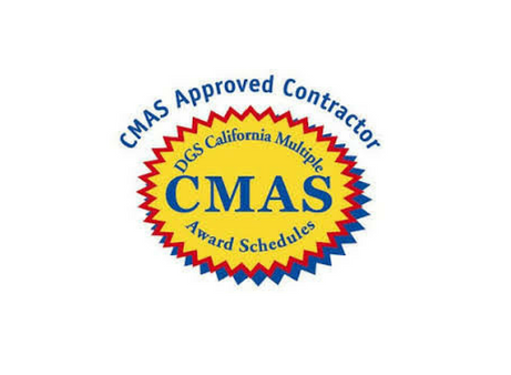 CMAS - The California Multiple Award Schedules (CMAS) offers a wide variety of commodities, non-IT services and information technology products and services at prices which have been assessed to be fair, reasonable and competitive. Suppliers may apply for a CMAS contract at anytime - no bids are required.CMAS Contract in process.