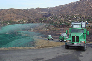 Erosion Control - After the fires are extinguished, the hazards of wildfire do not go away. S3 provides Erosion Control services to help control erosion and landslide risks that can turn into mudslides after heavy rains. Erosion control measures play a vital role in protecting the landscape and people and S3 is striving to become a major posture treatment company.