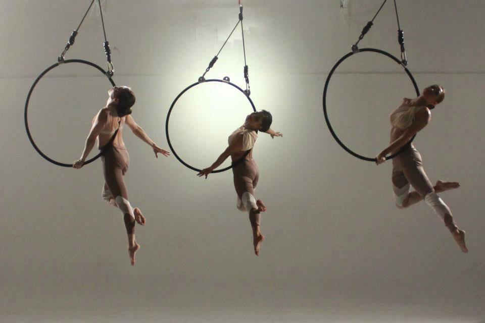 Aerial Hoop Performance | Photo by Adele Katerina Raya