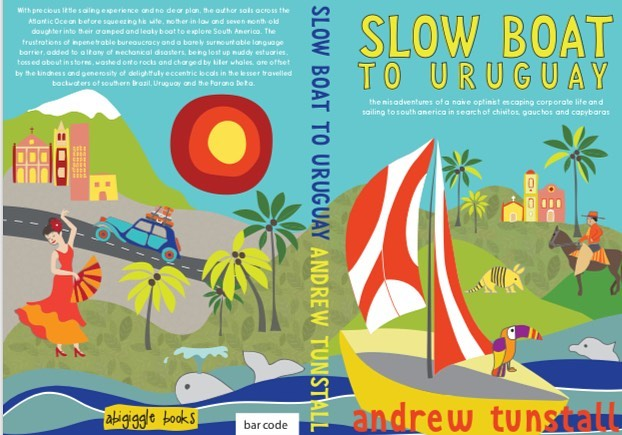 Excited to share my first ever book cover illustration!! Slow Boat to Uruguay by Andrew Tunstall - now on sale on Amazon. Big Thankyou to Andrew Tunstall and Abigail Tunstall for the opportunity was so much fun to do!