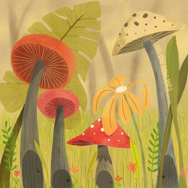 This is my 'Mushroom Village' - where all sorts of interesting magical creatures live! #frontdoorchallenge ⠀⠀⠀⠀⠀⠀⠀⠀⠀ ⠀⠀⠀⠀⠀⠀⠀⠀⠀ #illustration #illustrations #illustrate #illustration_best #illustration_daily #illustrationartists #illustrationforkids #illustratorsofinstagram #illustrationoftheday #illustrationart #childrensbookillustration #childrensbooks #childrenseemagic #kidstagram #booksforkids #artistsoninstagram #artistsofinstagram #artgallery #illustrationartist #art_we_inspire #artstagram #worldofartists #artistofinstagram #artjournal #photoshop #procreate