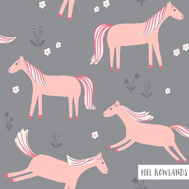 A friday afternoon super cute and delicate horsey pattern. Which color way do you prefer? Happy weekend everyone! #horse #surfacepattern #surfacepatterndesign #illustration #kidssurfacepattern #horseylove #textiledesign #textile #illustrations #adobephotoshop #procreate #horses #artjournaleveryday