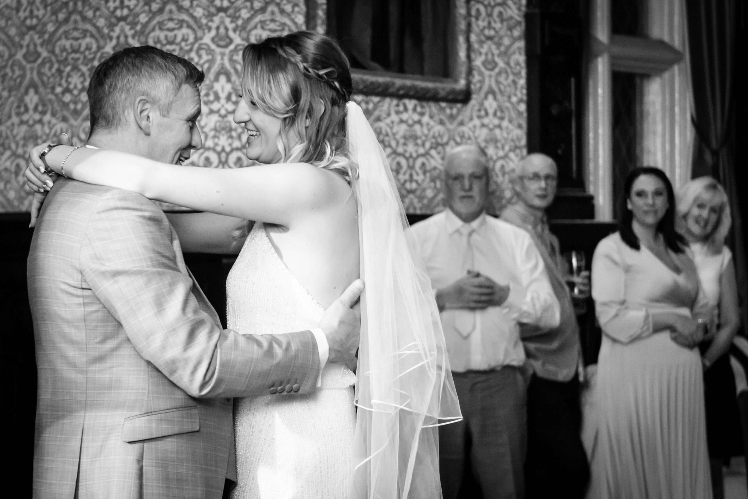 1st Dance at Crewe Hall Wedding Ceremony