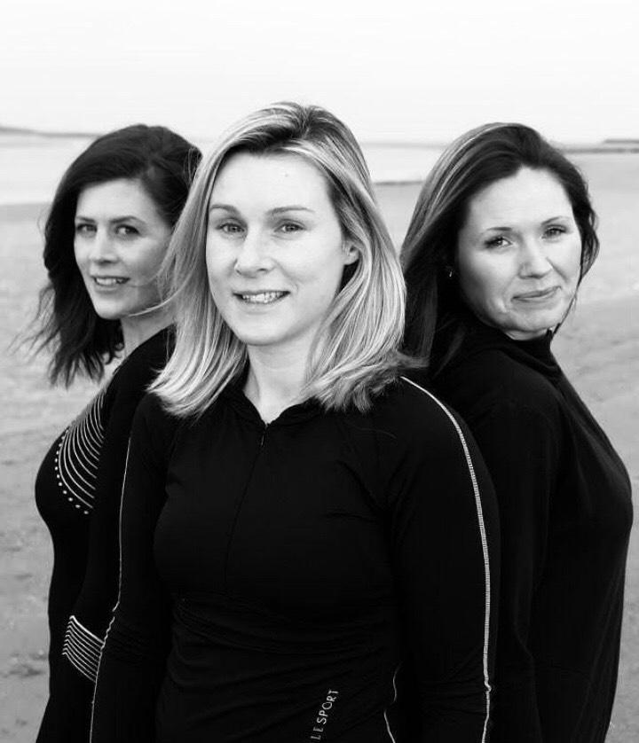 The Green Queens are, Annmarie Burke, Sharon Quinn and Deirdre Finn.