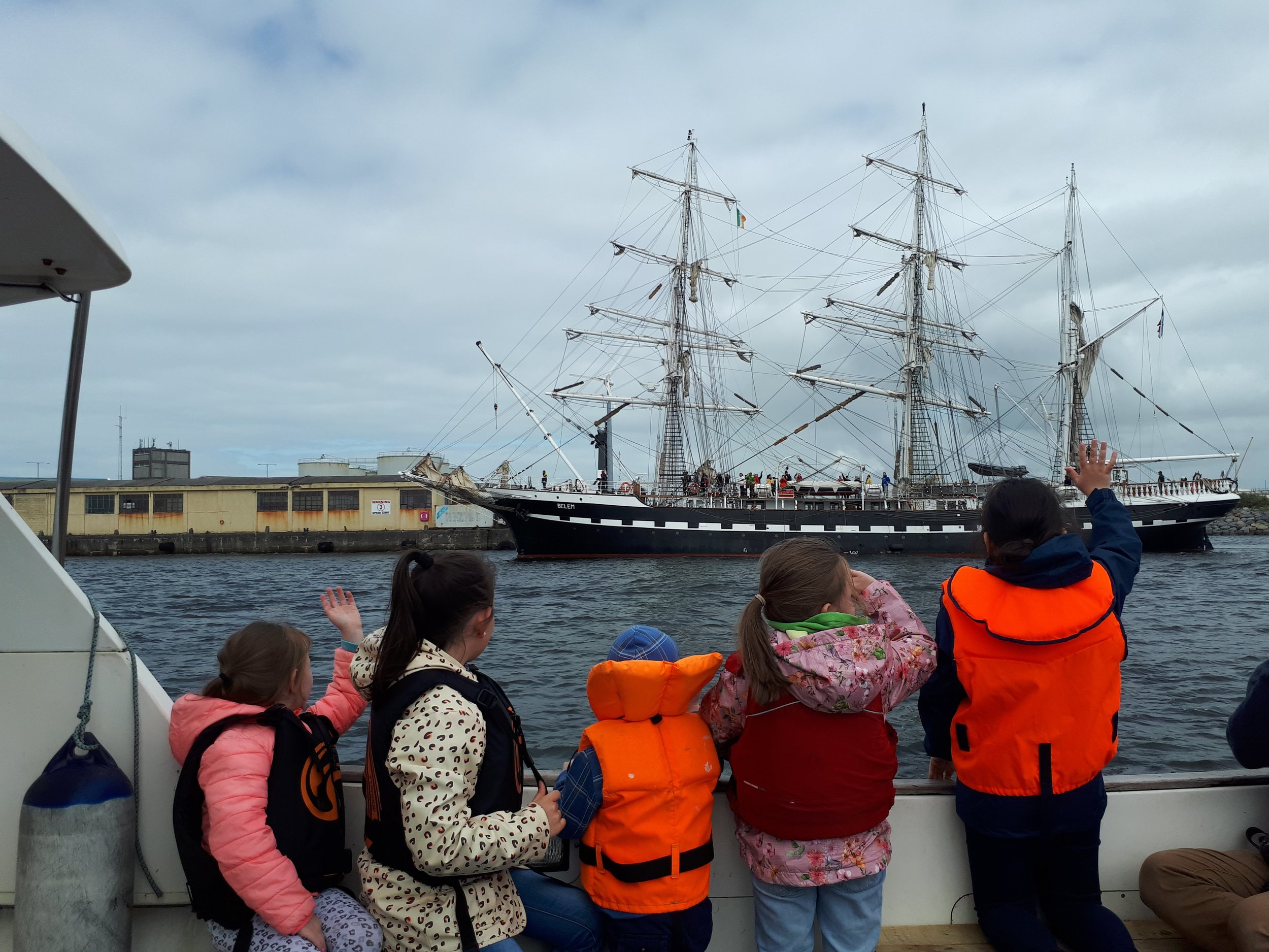 Share the magic! Galway Bay Boat Tours in Collaboration with Seafest, Galway 2018.