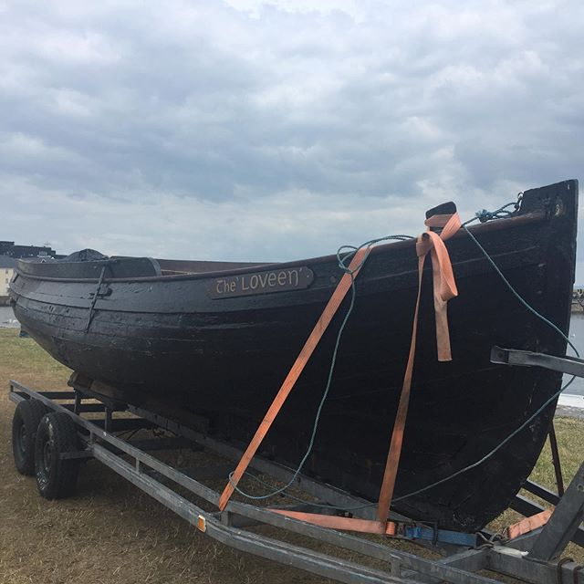 Monday 26th August @ 20:00  Claddagh Snooker Hall Nimmos Pier, The Claddagh.  Public meeting about the upcoming restoration of The Loveen. Pop along for a chat and a cuppa and see what it's all about. All very welcome. Please tag and share to spread the word. . . . . . #boatrestoration #claddagh