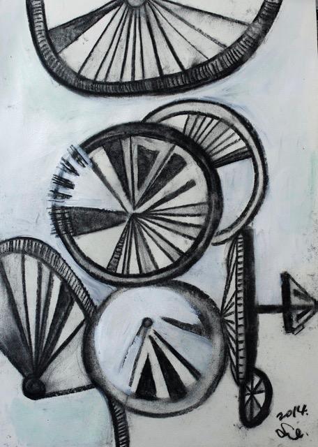 Bike tires. 2014