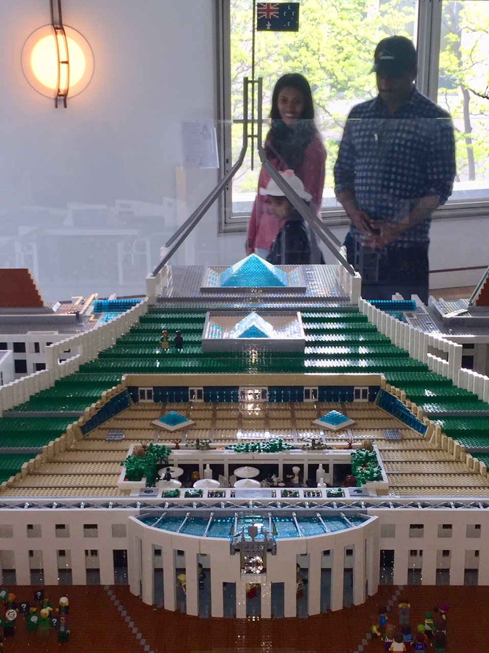 Lego Parliament House by Ryan McNaught