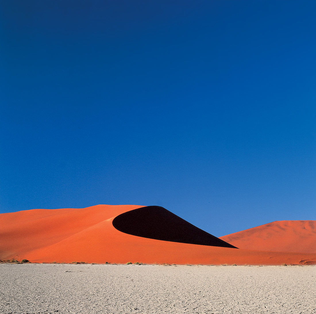 "Black Dune  by Lucien Moolenaar C-Type Print Aluminium & Perspex Mounted, 36x36"" (Edition of 10)"