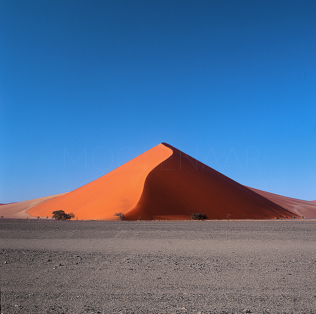 "Pyramid Dune  by Lucien Moolenaar C-Type Print Aluminium & Perspex Mounted, 36x36"" (Edition of 10)"