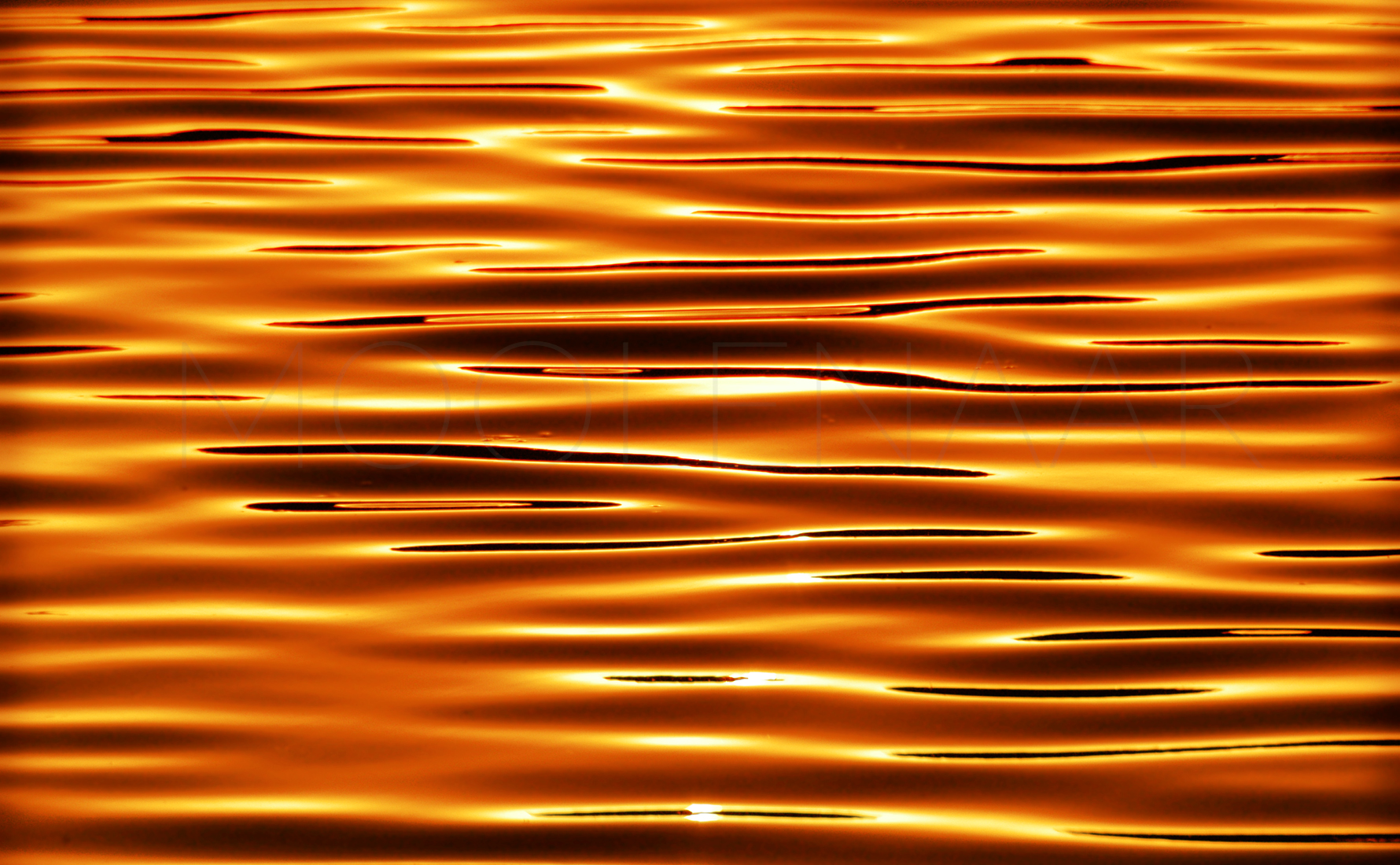 "Light Waves  by Lucien Moolenaar C-Type Print Aluminium & Perspex Mounted, 36x60"" (Edition of 10)"