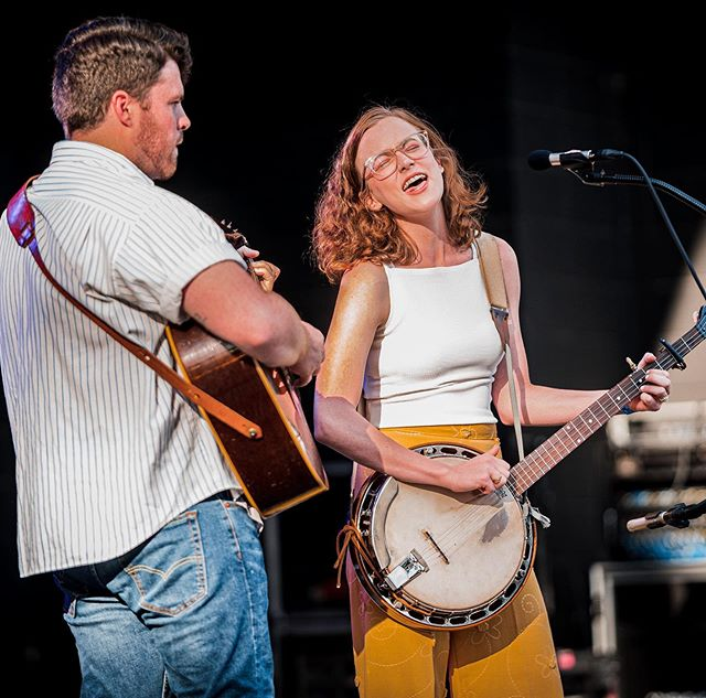 We will be belting it out a bunch this week, including at our last Triangle play for a while. Also can I look this tan again? 💅📷 @8bit.photog  9/26 - IBMA Bluegrass Ramble - Raleigh - King's - 11pm  9/27 - World of Bluegrass - Raleigh - Hargett Street Stage - 1:45pm 9/28 - Hampden-Sydney College 9/29 - The Chatham Experience benefit for Chatham County Arts Council's Artists-In-Schools initiative - Pittsboro - Chatham Beverage District