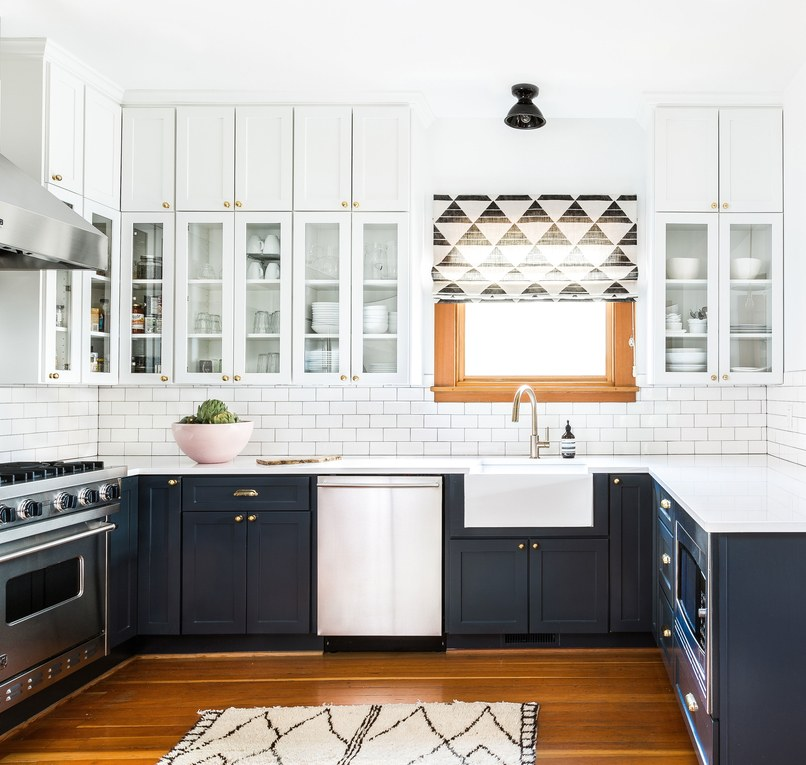 Design by Heidi Caillier via  Architectural Digest