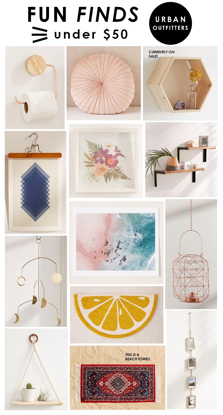 Toilet Paper Holder  |  Round Pillow  |  Hexagon Shelf  |  Picture Hanger  |  Pressed Flower  |  Wall Shelves  |  Moon Phases Mobile  |  Lemon Doormat  |  Hanging Lantern  |  Beach Print  | Rope Shelf  |  Beach Towel  |  Photo Frames Banner
