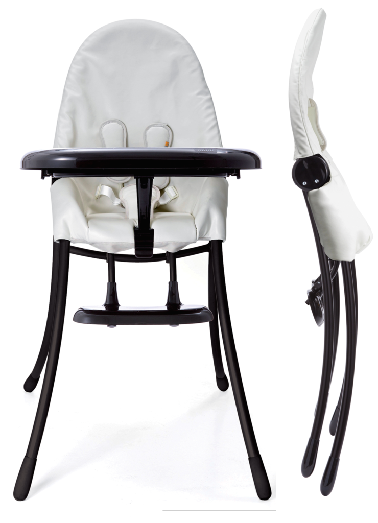 3. Bloom Baby Nano High Chair - This high chair folds completely flat for easy storage. It can also be used as a chair at the table when your child is a bit older!