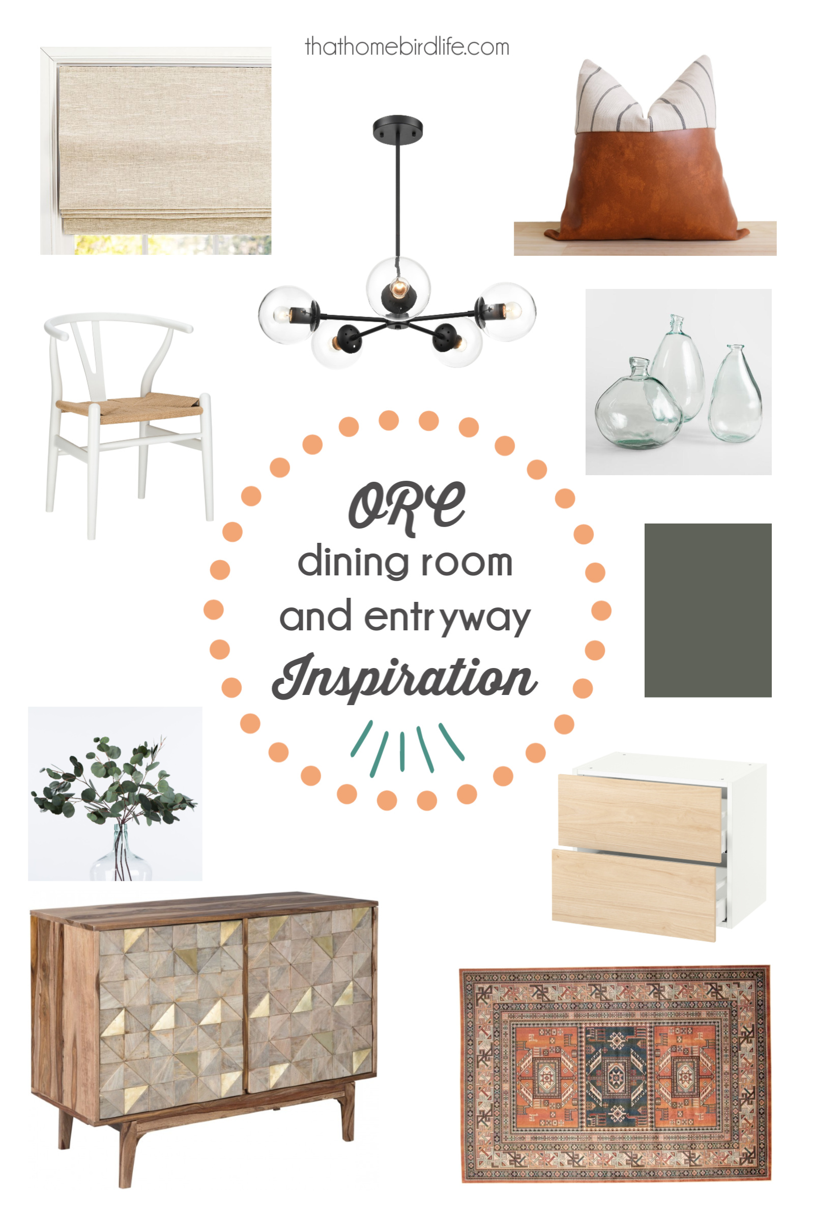 That Homebird Life - My friend Jude is also doing a dining room makeover and her entryway is included! She has incredible style so I can't wait to see how it turns out!