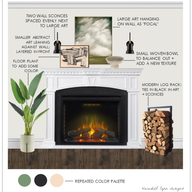 DESIGN TIPS: HOW TO STYLE A MANTLE -