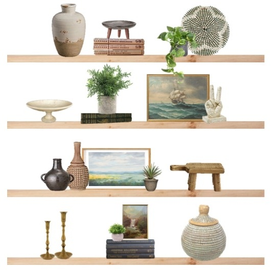 DESIGN TIPS: HOW TO STYLE BEAUTIFUL SHELVES -