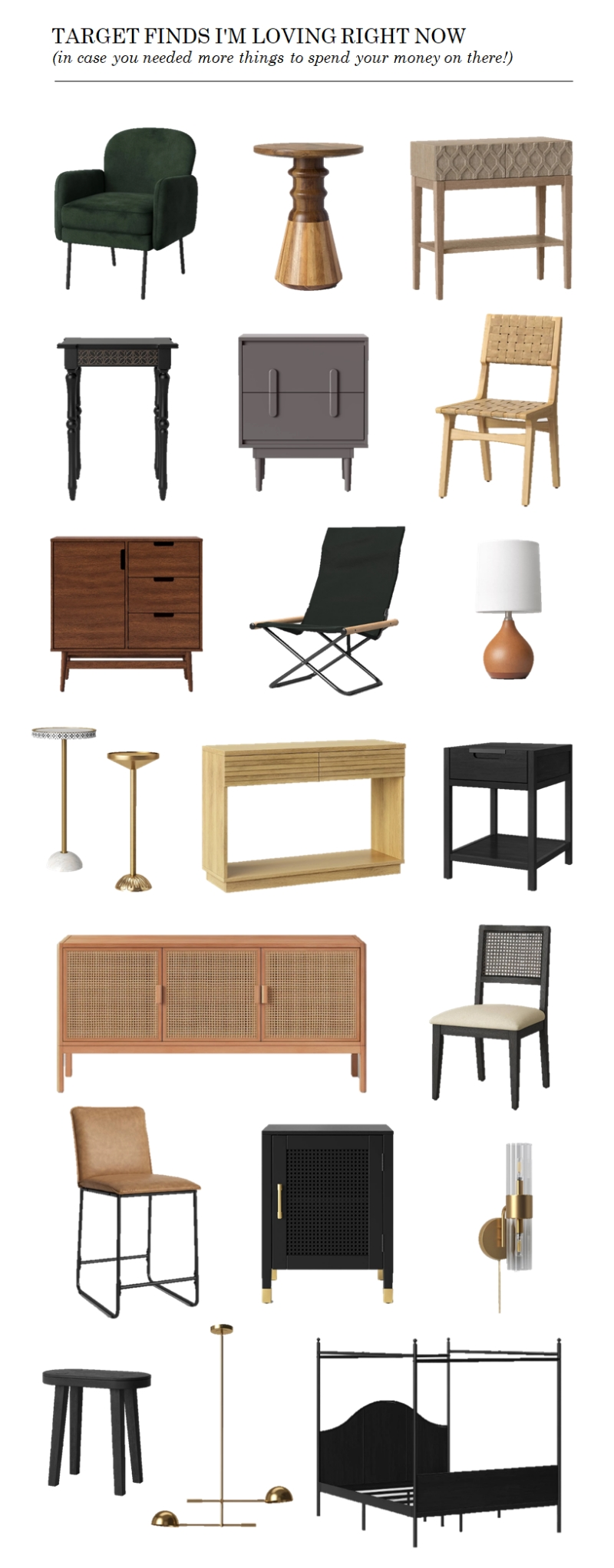 21 Target Finds I M Loving Right Now Stylish Affordable Furniture Meredith Lynn Designs