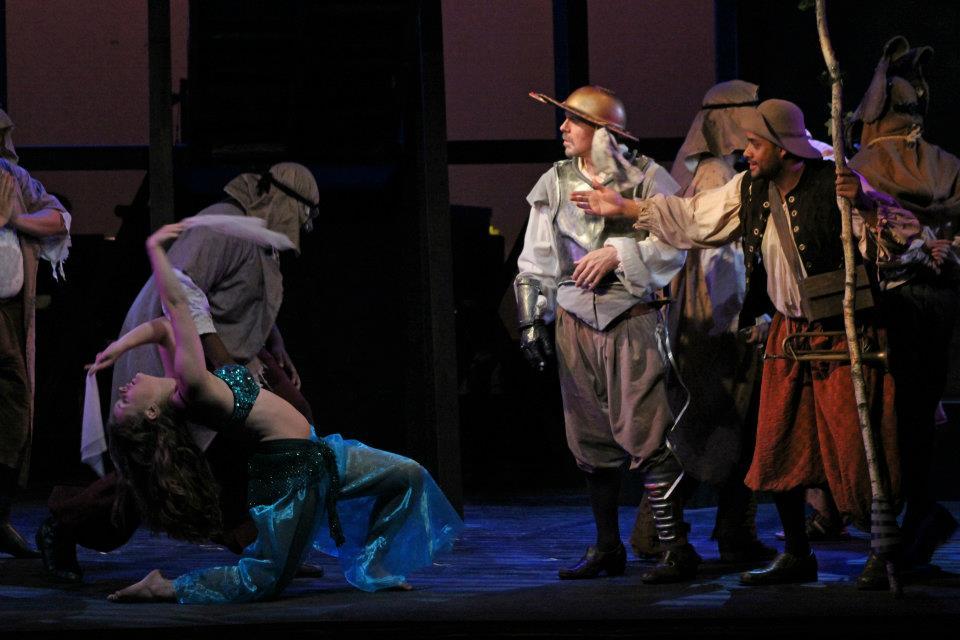 Man of La Mancha - Belly Dancer/Ensemble
