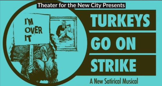 Swing in New Musical - Emilie will be a swing for Turkeys Go On Strike, a new musical performing during the last week of August at Theater For The New City.