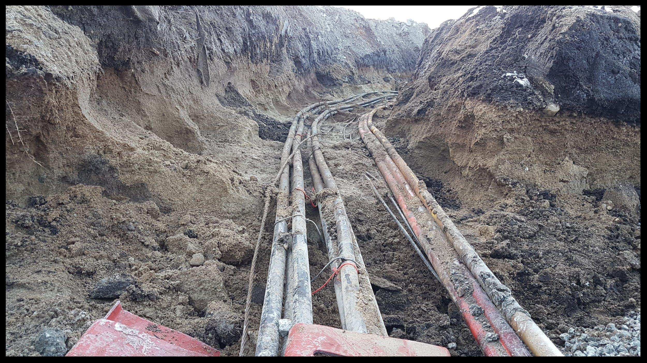 Skånsom fremgraving av vann, avløp, gass og strømkabler