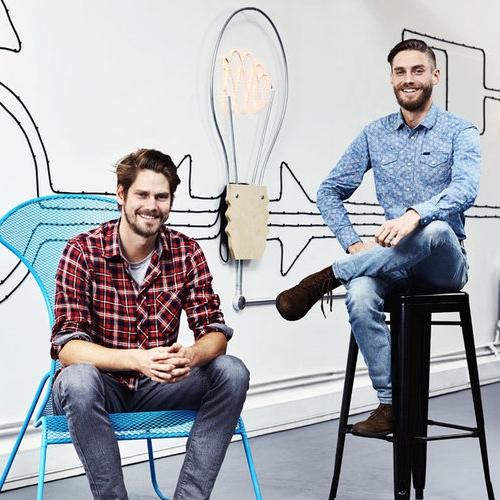 Jak Ollett Founder and Robert Ollett Co-Founder (on the right)