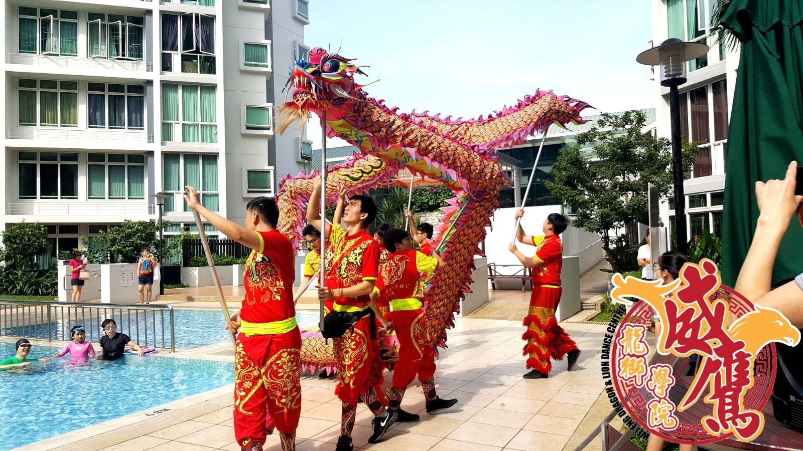Dragon Dance Performance: - • Acrobatic dragon dance• Luminous dragon dance• L.E.D dragon dance
