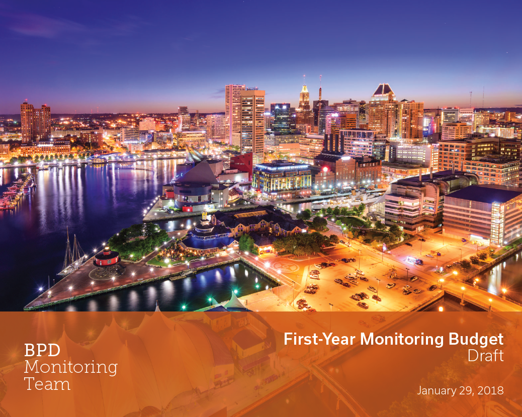 Click here to access the Draft First-Year Monitoring Budget