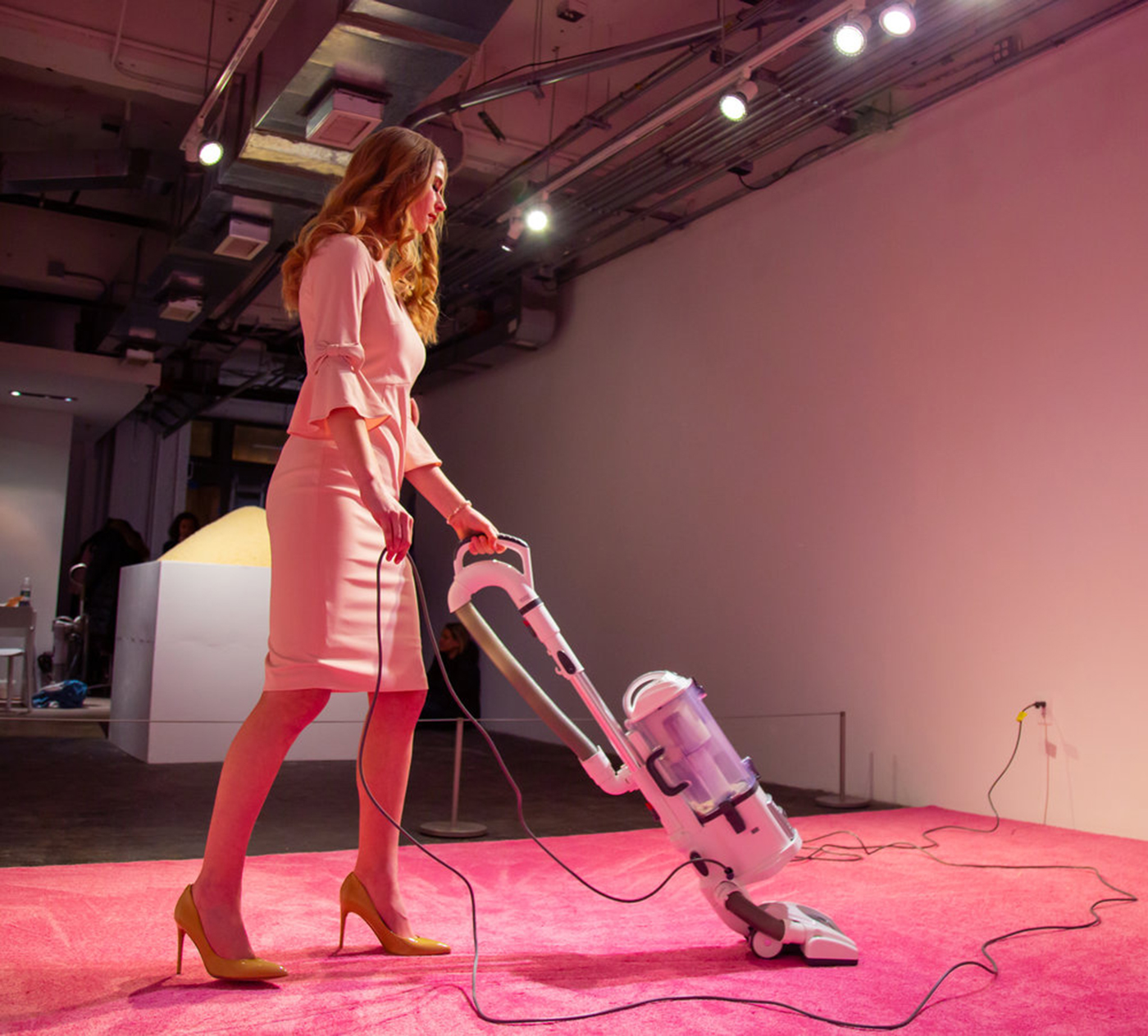 The Neoliberal Hypocrisies of Ivanka Trump Vacuuming - Hyperallergic, February 5, 2019
