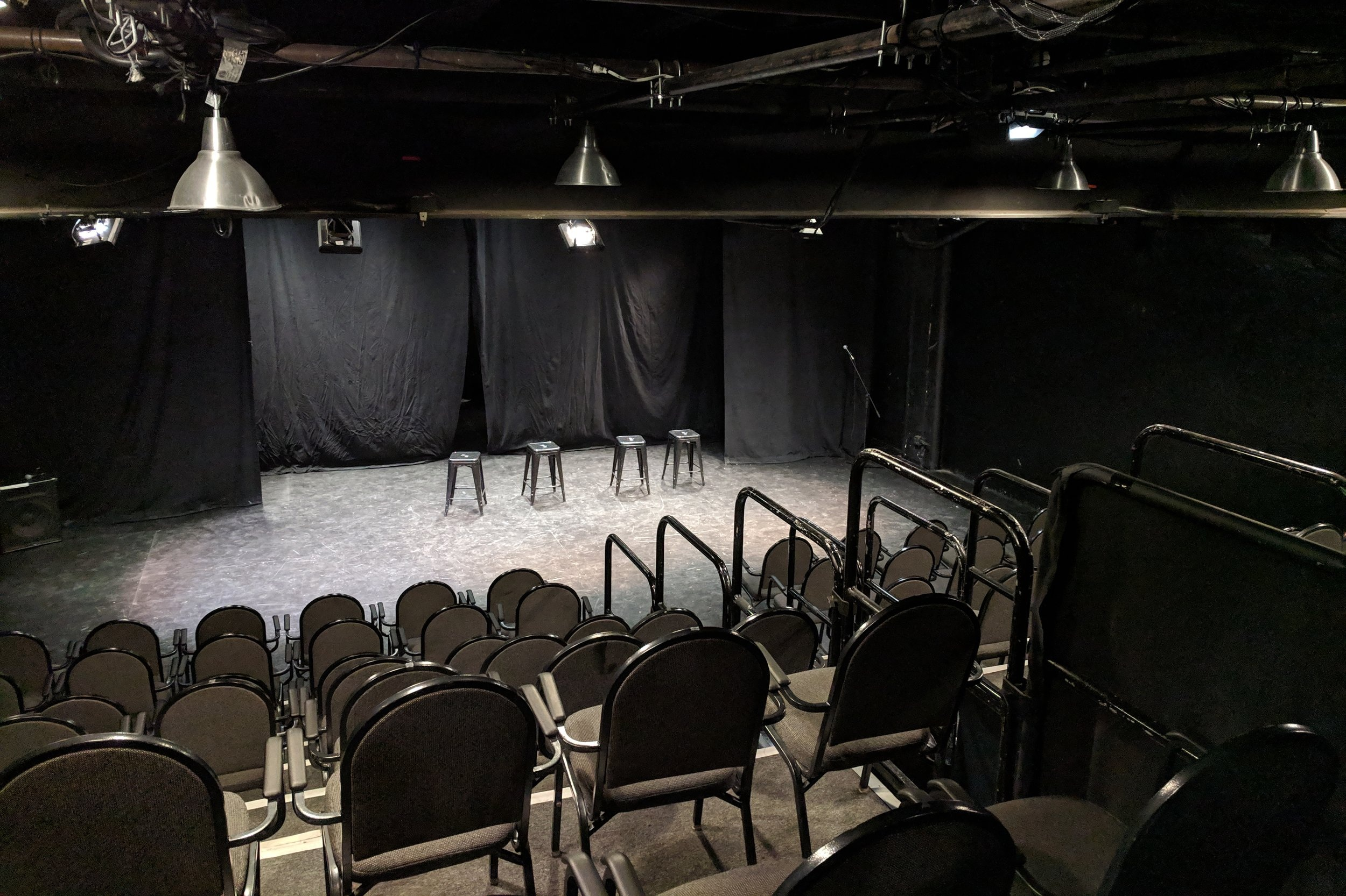 Black Box Theater - 120 seat, (57'x34')