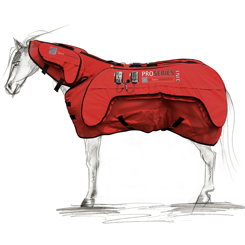 Proseries 3in1 Massage Magnetic Therapy Blanket For Horses Www Sportinnovations Net