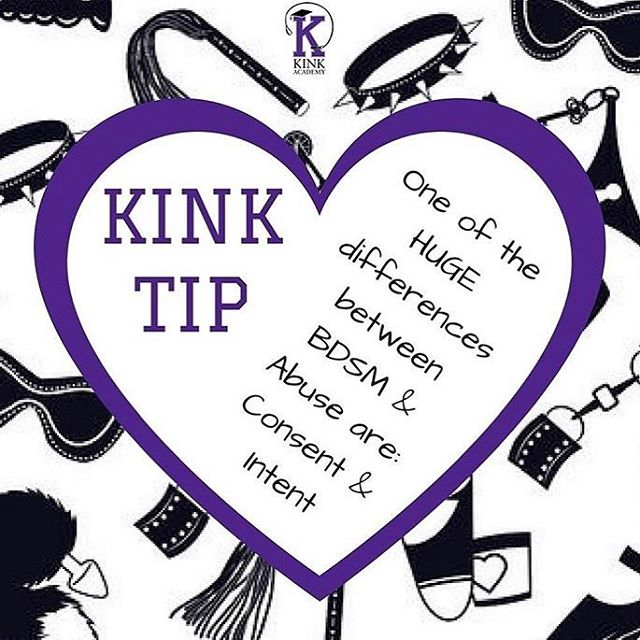 So many misconceptions about kink but this is a key one. There is abuse in the kink community as much as in any other community- but at the heart of it- kink is about consent. It's about communication and negotiating boundaries that honour the partners involved. (Regram @kinkacademy ) #kink #bdsm #bdsmcommunity #consent #consentculture #safeword #limits #boundaries #domina_franco