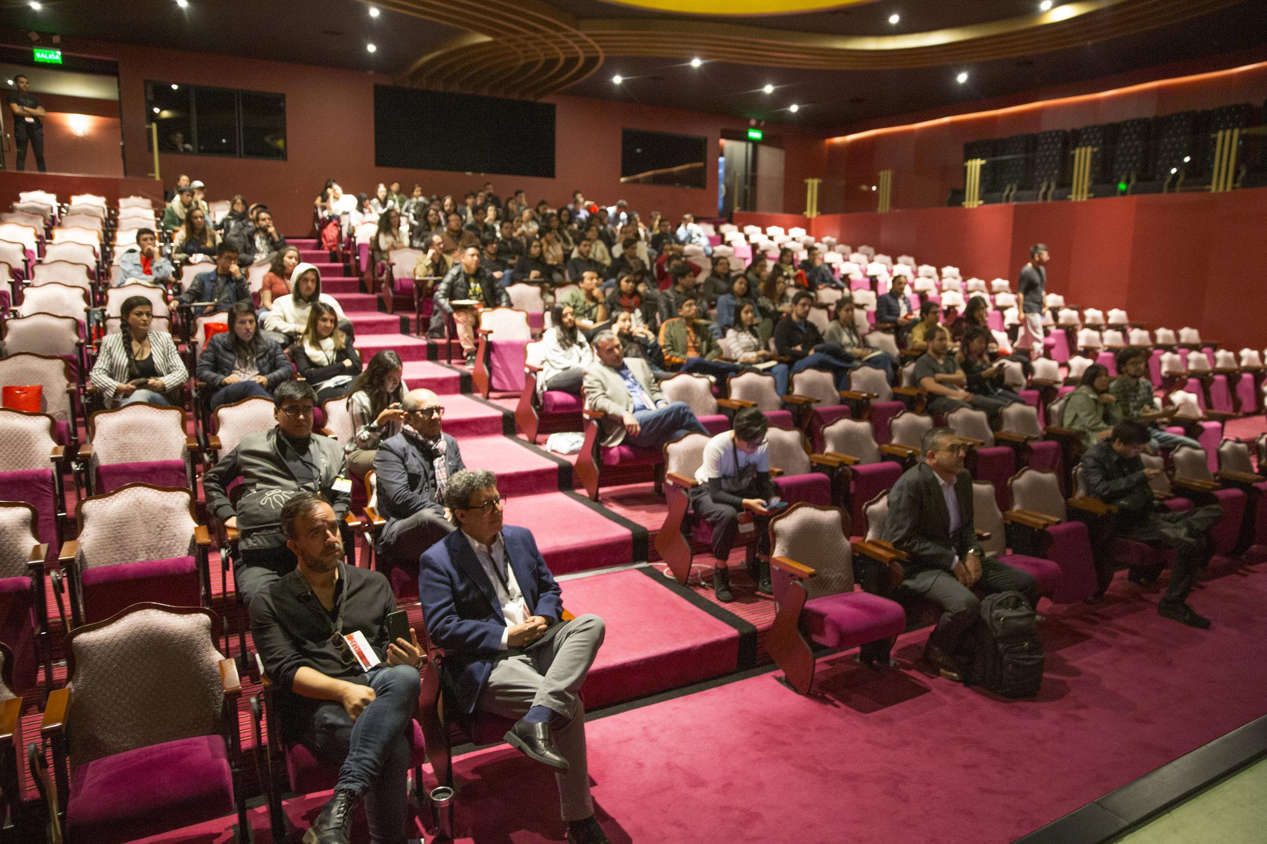 Presentación primera plataforma digital de oferta y búsqueda de empleo para el sector audiovisual del Ecuador
