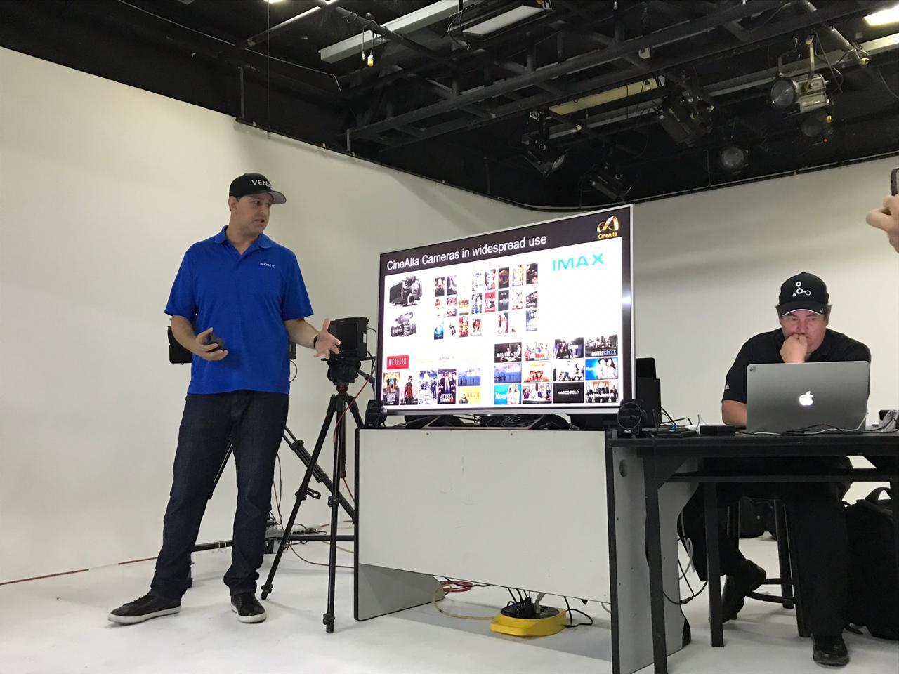Taller Sony Venice - Workflow Training y Grabación
