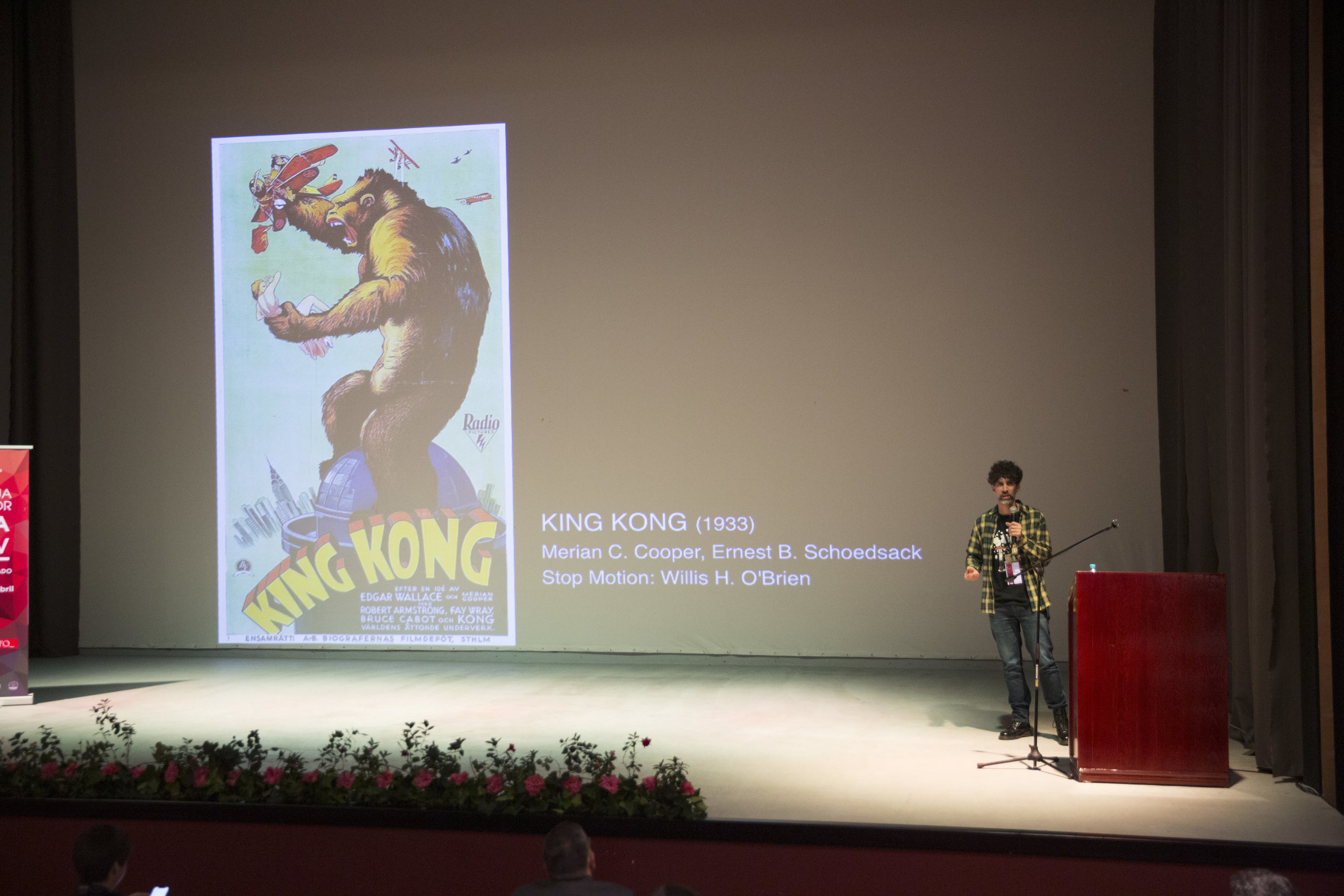 "Charla magistral: ""Contar historias en animación Stop Motion"""