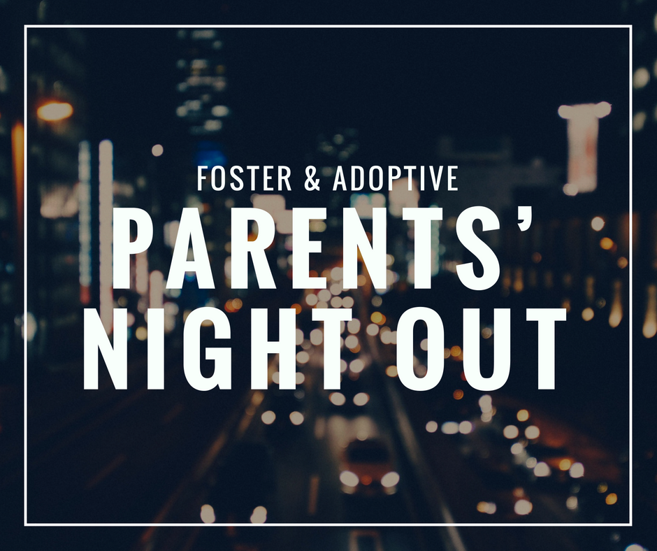 - As hard as it is for any family to find a babysitter, the rules for foster families make it much more difficult. These events give these hard working parents a well deserved night off while kids eat pizza, play games and have fun! Check out our volunteer page for opportunities to serve!