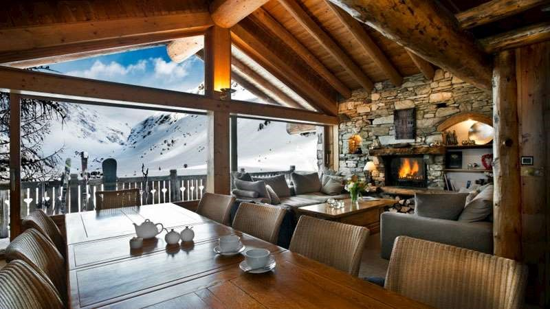 It's a far cry from the uni digs: skiing with parents means you could end up staying somewhere like this. Photo:  Igluski.com