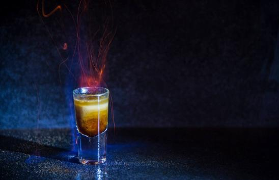 Tuck into one of these shots if you dare. Photo:  K.RE  Shooter Lounge Bar