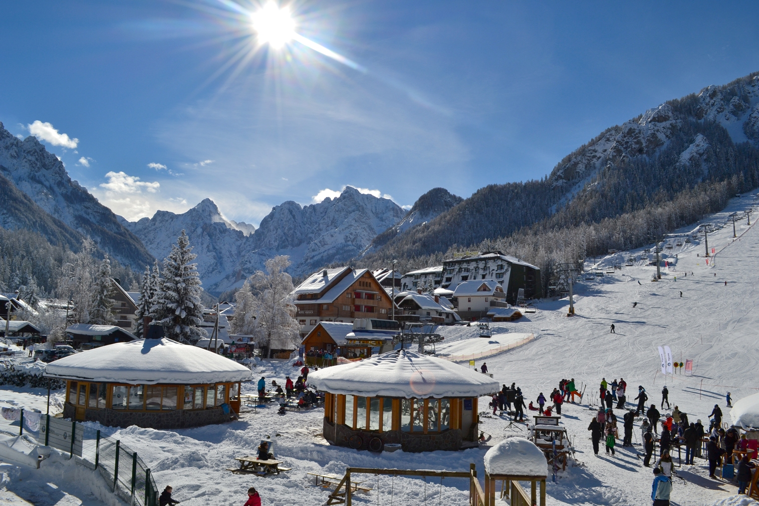 Looking for uncrowded pistes? Head to Eastern Europe to save on costs . Photo: Gorazd Stražišar