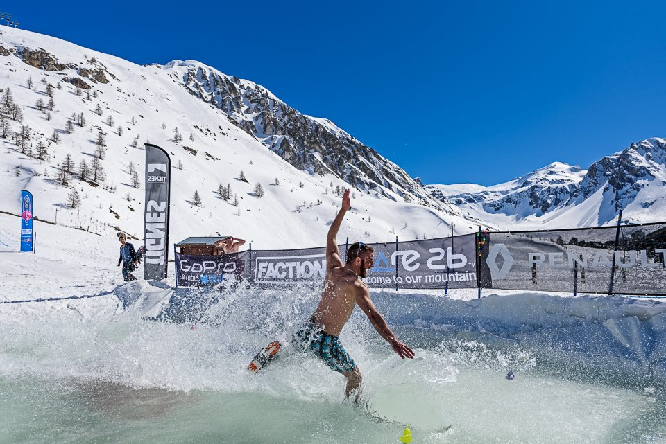 The perfect way to cool off! Photo:Tignes.net