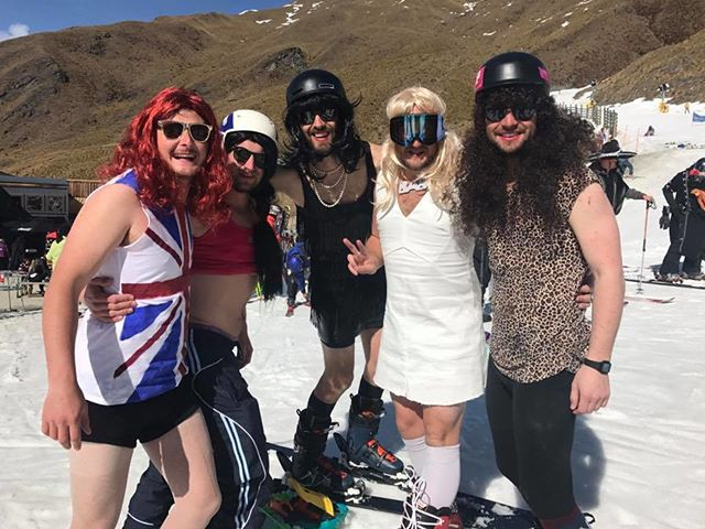 Skiers in @trebleconenz are feeling spicy! - - - - - #pow #girlpower #spicy #spicegirls #skisass #treblecone