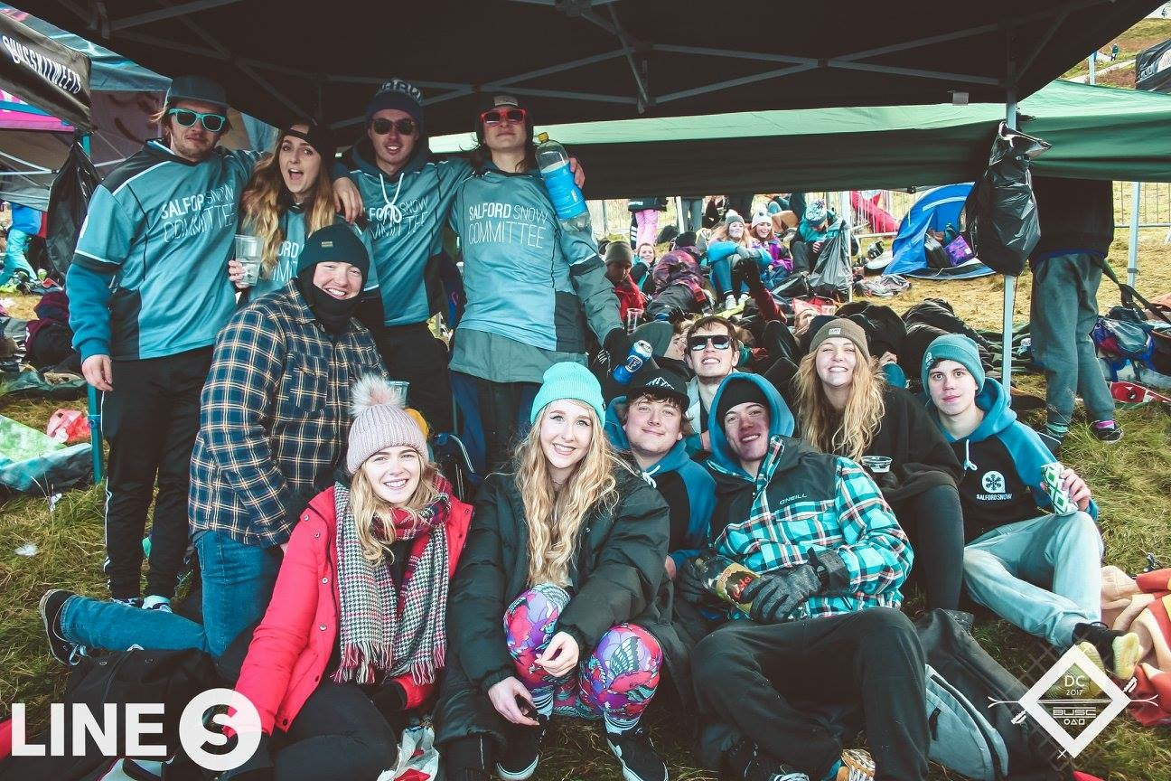 Salford had a strong gazebo game on the hill last year