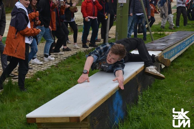 box tekkers at Kings, captured by the University of Manchester Ski and Snowboard Club