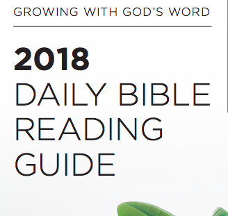 Daily Bible Reading Guide English