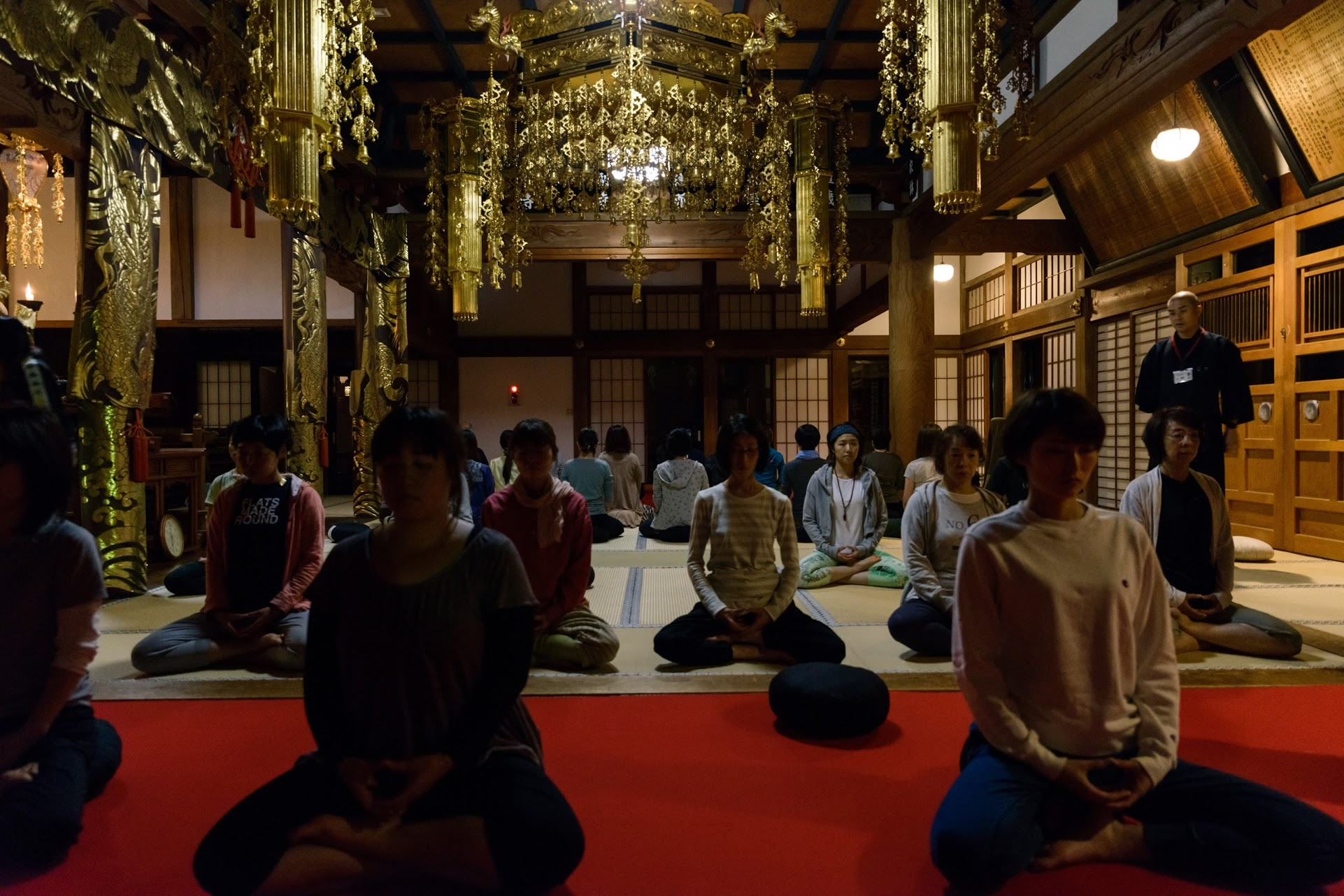 Meditation Workshop at Antouin Temple, Fukushima