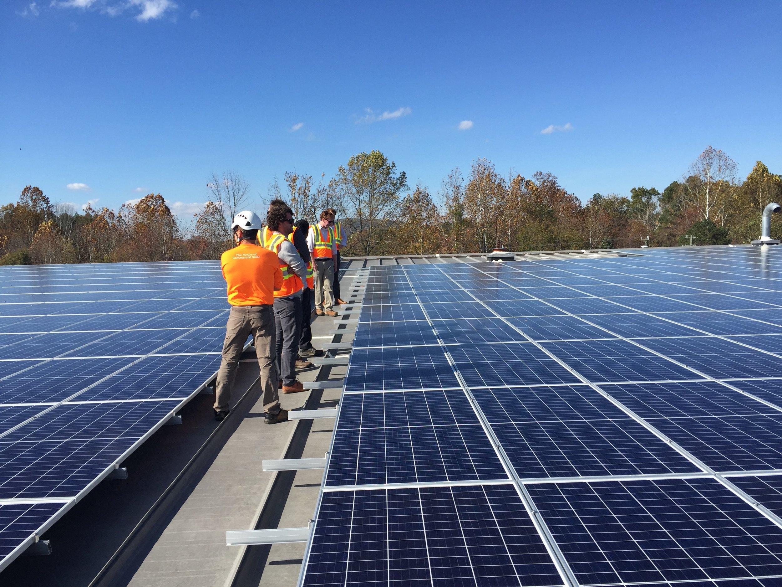 Going Solar: Design Electric, Hantzmon Wiebel, & Peabody School