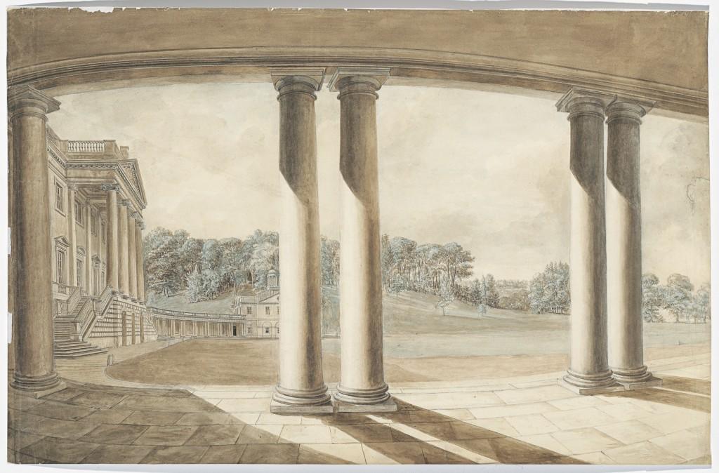 Fonthill Splendens by Hendrik Frans de Cort, c.1791