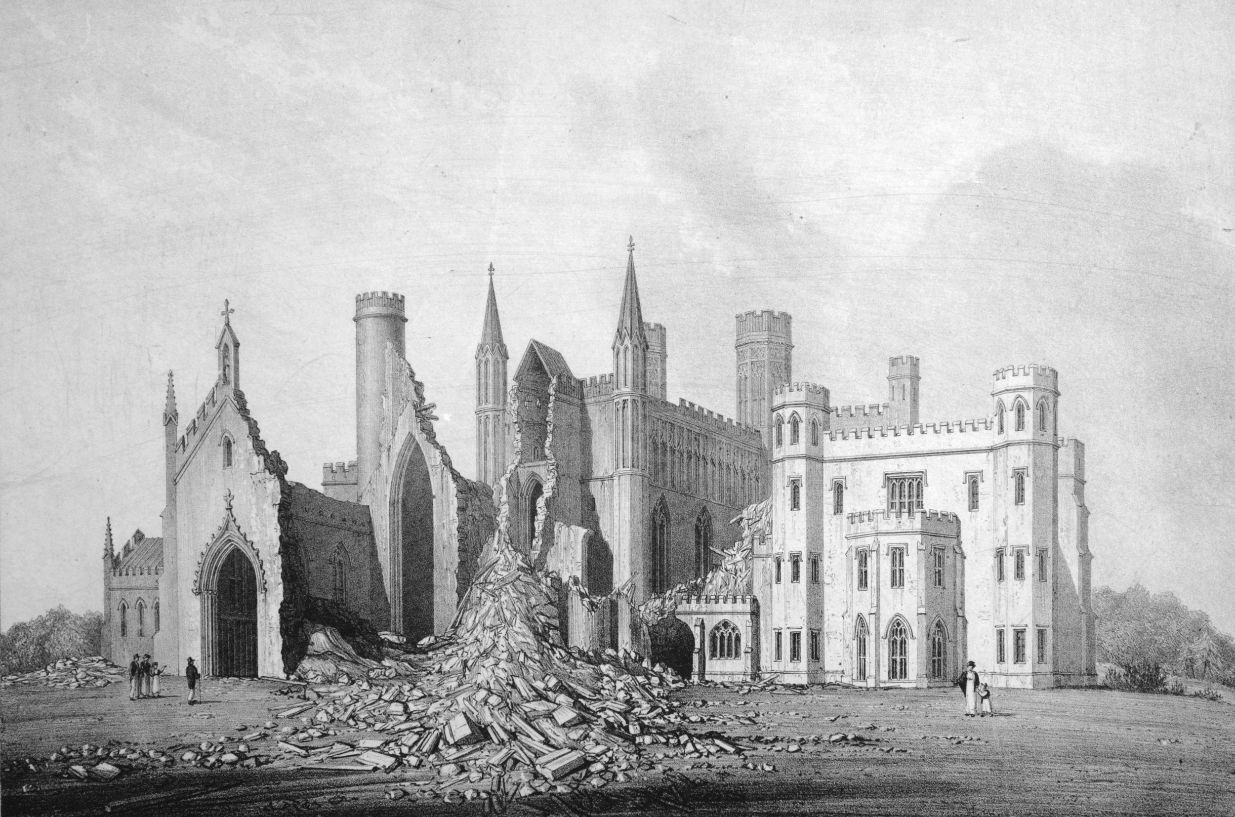 Ruins of Fonthill Old Abbey