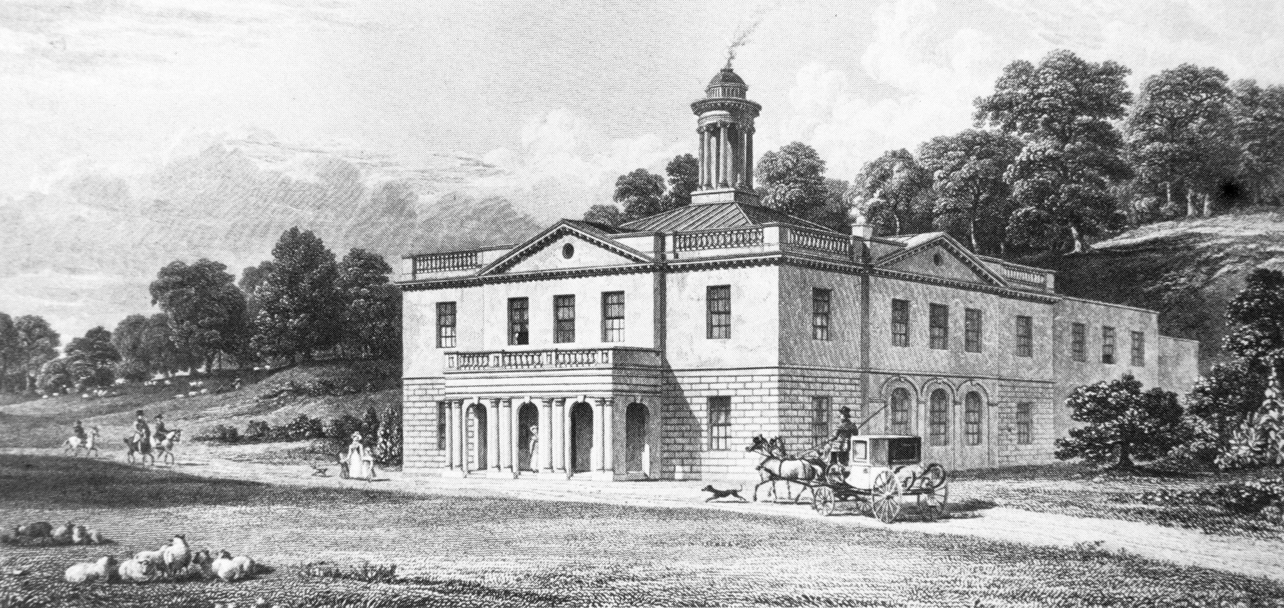 The Pavilion c.1828